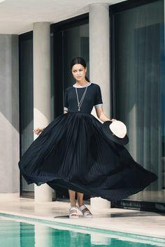 #PANDORAloves this dramatic dress. Click the image for more style inspiration. #PANDORAmagazine