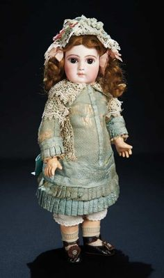Beautiful Early French Bisque Premiere Bebe by Jumeau with Original Costume 5500/7500 Auctions Online   Proxibid