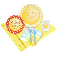 Little Sunshine Just Because Party Pack for 8 from BirthdayExpress.com