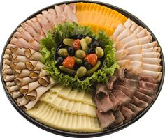 pictures of deli meat and cheese trays Meat Cheese Platters, Deli Platters, Cheese And Cracker Tray, Deli Tray, Meat Trays, Meat Platter, Food Platters, Party Platters, Party Trays
