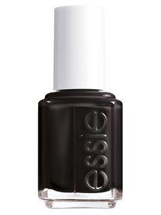 """Лак для ногтей, оттенок 88 """"Лакрица"""", 13,5 мл Essie. Цвет черный."""