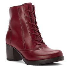 NEW DANSKO Ames Boot Antiqued Red 38 Brand new in box Dansko Ames Boot in antique red/maroon leather.  Only worn to try on-- brand new excellent condition, in box.  Size 38. This shoe runs a little big.  Would fit a size 8-8.5. Dansko Shoes Ankle Boots & Booties