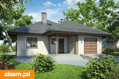 Proiect casa parter - Smart Home Concept Bungalow, Smart Home, Ideas Para, Gazebo, Garage Doors, Outdoor Structures, Concept, Outdoor Decor, Studio
