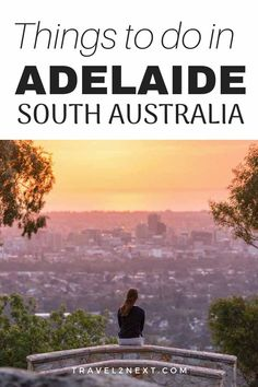 35 Amazing Things To Do in Adelaide A big bucket list of things to do in Adelaide. A city of festivals, museums and gardens, Australia's fifth largest city doesn't share the same convict roots as other Australian cities. Adelaide South Australia, Visit Australia, Australia Travel, Melbourne Australia, Western Australia, Amazing Sunsets, Amazing Things, Amazing Places, New Zealand Travel