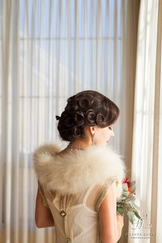 1920s hairstyle   Vintage wedding Hairstyle   Happily Ever After Hair   Juliana Laury Photography   Philadelphia area + Bucks County Wedding Photography