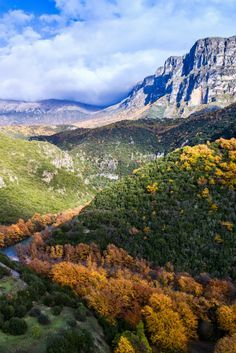 Vikos-Aoos National Park: The rare natural phenomena here will present you with unforgettable experiences as you walk the Vikos Gorge and the Aoos Canyon and contemplate the sheer heights of Mt Tymfi. Beautiful World, Beautiful Places, Greece Holiday, Rio Carnival, Winter Destinations, Natural Phenomena, Greece Travel, Funny Art, Wonders Of The World