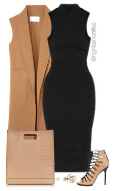 """Untitled #1891"" by highfashionfiles ❤️ liked on Polyvore featuring Alexander Wang, L.A.M.B., 3.1 Phillip Lim and Charlotte Russe"