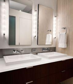25 Amazing Bathroom Light Ideas | Laundry, Kitchens and Inspiration