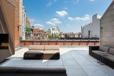 A Soho terrace with a view