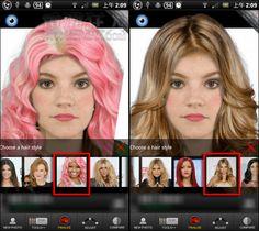 [無限試妝、免卸妝] Makeup 超強神奇上妝、變髮 App(iPhone, Android)