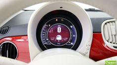 La consommation en ville de la Fiat 500 est de 6.2 litres sur 100 kilomètres. Sur les voies rapides et routes de campagnes, elle est de  4.2 litres sur 100 kilomètres.  Améliorez votre consommation de carburant et vérifiez les émissions de CO2 du véhicule avec eco:Drive.
