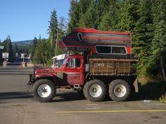 Crazy 6x6 Jeep Truck Camper