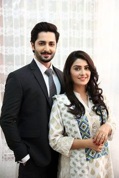 Pakistani actress Ayeza Khan with her husband Danish Taimoor Pakistani Actress, Bollywood Actress, Ayeza Khan, Mahira Khan, Muslim Women Fashion, Maya Ali, Pakistani Wedding Outfits, Couple Photography Poses, Pakistani Dress Design