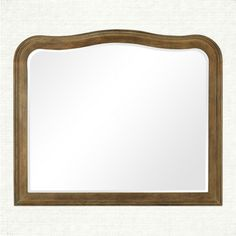 The beveled glass of the Belmont Mirror is surrounded by a hand crafted ash frame whose design is simple yet elegant.