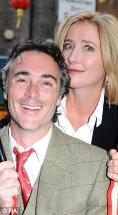 Actor Greg Wise and wife Emma Thompson met on the set of their film Sense and Sensibility They began dating after his date with Kate Winslet another co-star was unsuccessful.