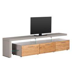 TV-Lowboard Solano II - Ohne Beleuchtung - Asteiche / Platingrau - Mit TV-Bank links Jetzt bestellen unter: https://moebel.ladendirekt.de/wohnzimmer/tv-hifi-moebel/tv-lowboards/?uid=05187d6b-471e-5af0-97ab-61b7d4a1c609&utm_source=pinterest&utm_medium=pin&utm_campaign=boards #tvlowboards #wohnzimmer #tvhifimoebel