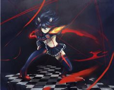 kill la kill favourites by fire-delgren on DeviantArt Manga Anime, Anime Art, Otaku Anime, Cute Girls, Cool Girl, Kill A Kill, Demon Wolf, Amazing Drawings, Butches
