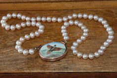 Classic #pearl #necklace created by The Goldsmithy.
