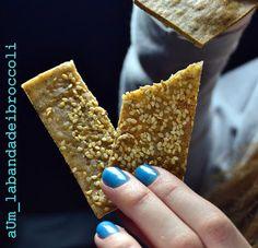 La banda dei broccoli: Crackers saraceno & riso senza lievito e senza glutine