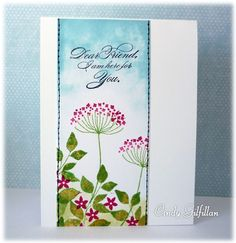 Summer Silhouettes Here for You by frenziedstamper - Cards and Paper Crafts at Splitcoaststampers