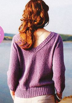 Prima Magazine Knitting Patterns : Prima Knitting Pattern, Ladys Open Back, Long Sleeve Sweater Knitting Pin...