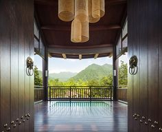 Architecture and design news from CLAD - Six Senses opens its first Chinese resort at Qing Cheng Mountain, with Taoist design by Habita Resort Villa, Resort Spa, Hotel Meeting, Five Star Hotel, New Property, Luxury Spa, Mountain Resort, Hotel Spa, Hotels And Resorts