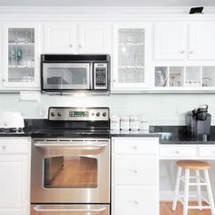 Jeffrey Court Morning Mist 3 in. x 6 in. Glass Wall Tile (1pk/8pcs=1SF)-99504 - The Home Depot Shower Backsplash, Blue Backsplash, Kitchen Backsplash, Kitchen Walls, Backsplash Ideas, Kitchen Interior, Kitchen Cabinets, Kitchen Appliances, Glass Mosaic Tiles