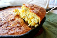 The Bojon Gourmet's Sweet Corn Cheddar Spoonbread - for breakfast, lunch or dinner (or all three!)