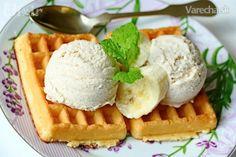 Banánovo-vanilková zmrzlina