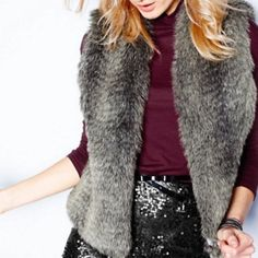 fauxfurvests | now this is a vest that my mother would absolutely love and i love ...