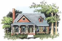 Eplans Country House Plan - Fine Three-Bedroom Home - 1694 Square Feet and 3 Bedrooms from Eplans - House Plan Code HWEPL12476