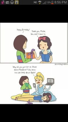 Disney Princess funnies