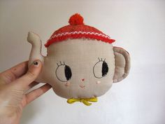 Teapot. Wall hanger MADE TO ORDER. Doll hook. One-of-a-kind.. $75,00, via Etsy.