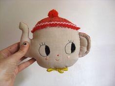 teapot softie via WeeBirdy