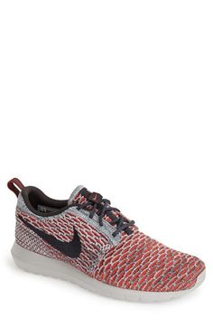 a4c286bf4f3 Nike Flyknit 'Roshe Run' Running Shoe (Men) available at #Nordstrom Nike