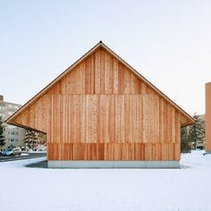 Dwelling House with Barn by Michael Meier Marius Hug Architekten District 12, Zurich, Switzerland  https://www.facebook.com/media/set/?set=a.10152399459450420.1073742209.402412880419&type=1