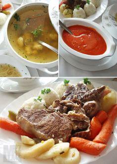 Jel' i kod vas danas za ručak Domaća supa sa knedlama, rinflajšom i sosom od paradajza  Za vas pripremila Lana, na str. 57-60. http://mezze.rs/januar-2014/