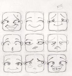 8 Mejores Imagenes De Caras Y Gestos P Faces Art Drawings Y