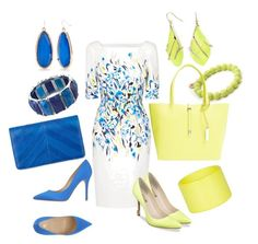 Designer Clothes, Shoes & Bags for Women Joules, Alexis Bittar, Dsquared2, Vince Camuto, Yellow, Blue, Shoe Bag, Polyvore