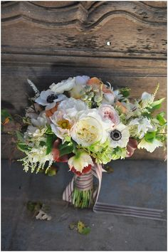 Pastel bridal bouquet  | Image by Krystal Kenney  Photography