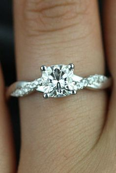 Simple Engagement Rings For S Who Loves Clics See More Http
