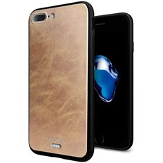iPhone 7 Plus [5.5''] Case - Anwish Premium PU Leather Back Cover + Soft TPU Silicone Bumper 2 in 1 Hybrid Protective Case for iPhone 7 Plus -- Awesome products selected by Anna Churchill