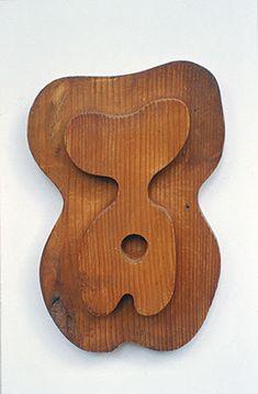 """JEAN ARP """"Torso Ombligo"""" 1915"""