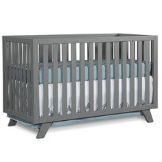 Child CraftTM SOHO Convertible Crib In Grey. The Child Craft SOHO Convertible  Crib Features Mid Century Modern Styling That Will Give Your Nursery A ... Nice Design