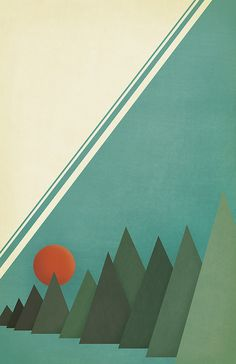 trees Poster version of Coast Kickoff quarter - inspiration for the head of the bottom bunk