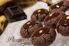 Fossette al cioccolato golose di banana  http://leleccorniedidanita.blogspot.it/2012/03/fossette-al-cioccolato-golose-di-banana.html