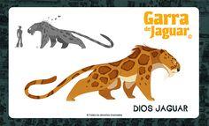 Garra de Jaguar/Quest Jaguar Warrior-Character Design on Behance