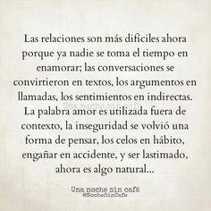 Las relaciones son más difíciles ahora #frases #amor                                                                                                                                                                                 Más