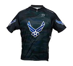 ok so it's for men, but I'm still getting it! Always enjoy showing some Air Force Love! Primal Wear Men's US Air Force Engage Cycling Jersey | Scheels