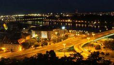 Bratislava at night (Slovakia)